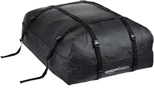 AmazonBasics - Dachgepäckträger-Tasche, Schwarz, 425 l